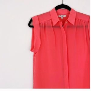 Madewell | Coral Summer Top